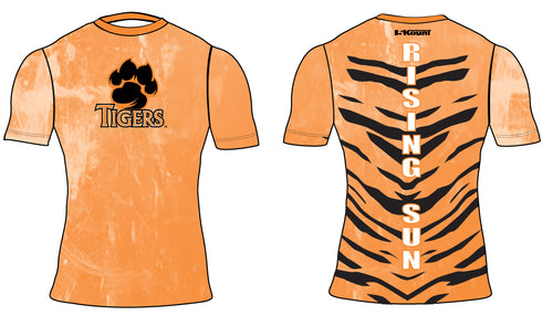 Rising Sun Tigers Sublimated Compression Shirt