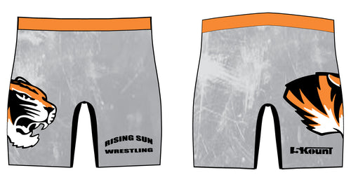 Rising Sun Tigers Sublimated Compression Shorts