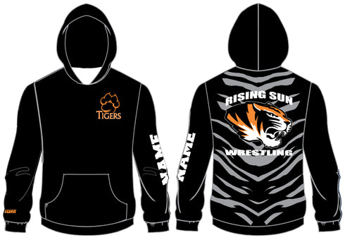 Rising Sun Tigers Sublimated Hoodie