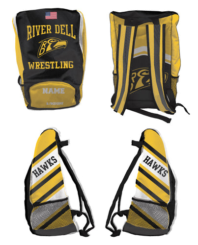 River Dell Wrestling Sublimated Backpack