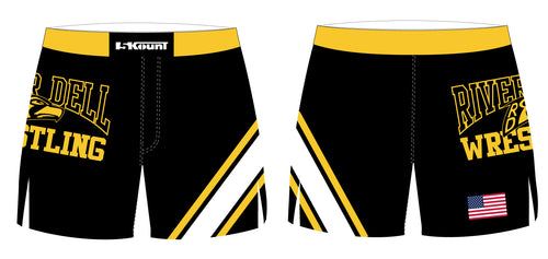 River Dell Wrestling Sublimated Board Shorts