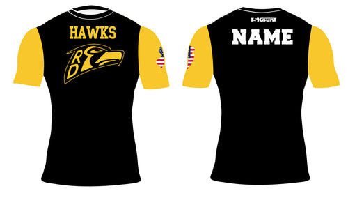 River Dell Wrestling Sublimated Compression Shirt