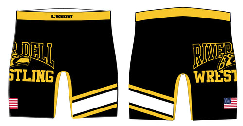 River Dell Wrestling Sublimated Compression Shorts