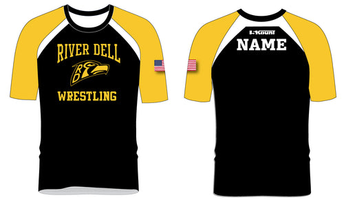 River Dell Wrestling Sublimated Fight Shirt