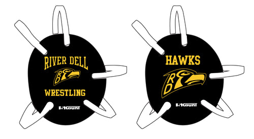 River Dell Wrestling Wrestling Headgear Decal