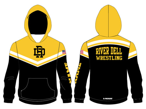 River Dell Wrestling Sublimated Hoodie