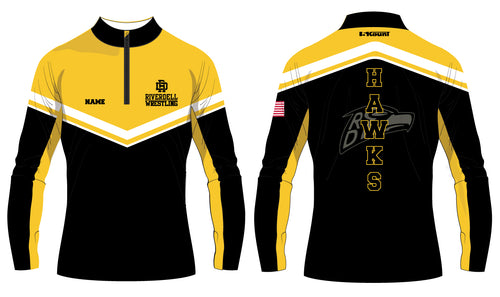 River Dell Wrestling Sublimated Quarter Zip