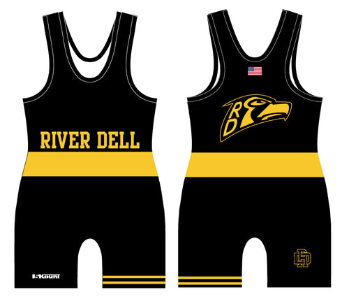 River Dell Wrestling Sublimated Singlet