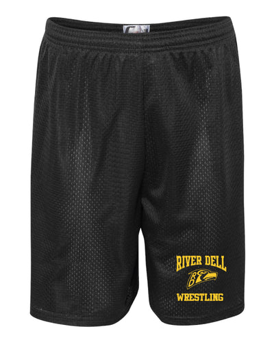 River Dell Wrestling Tech Shorts - Black