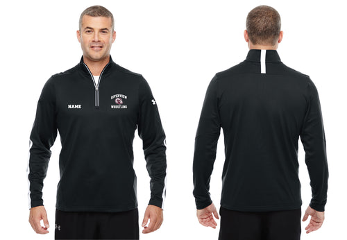 Riverview Wrestling Under Armour Men's Qualifier 1/4 Zip - Black - 5KounT2018