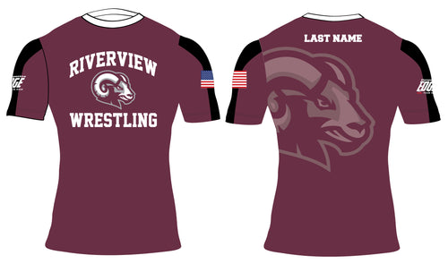 Riverview Wrestling Sublimated Compression Shirt - 5KounT2018