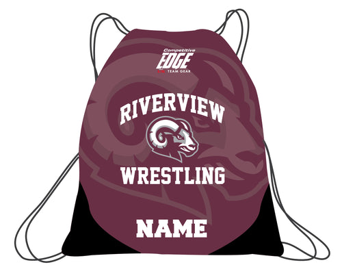 Riverview Wrestling Sublimated Drawstring Bag - 5KounT2018