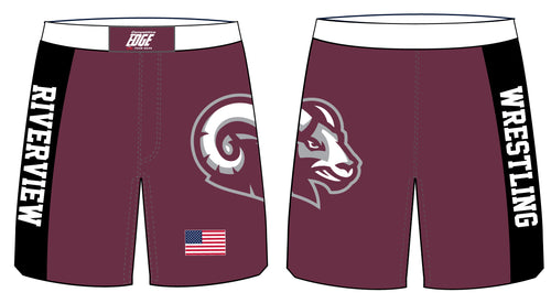 Riverview Wrestling Sublimated Fight Shorts - 5KounT2018