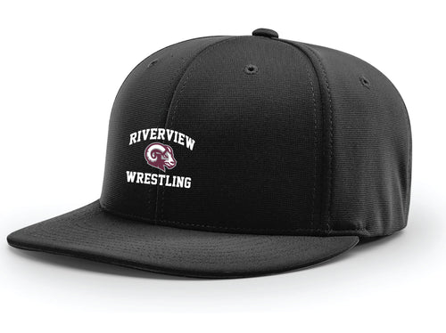 Riverview Wrestling Pom Beanie - Black - 5KounT2018
