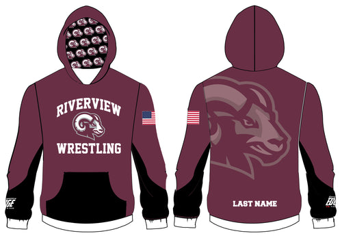 Riverview Wrestling Sublimated Hoodie - 5KounT2018