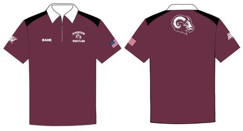Riverview Wrestling Sublimated Polo Shirt - 5KounT2018