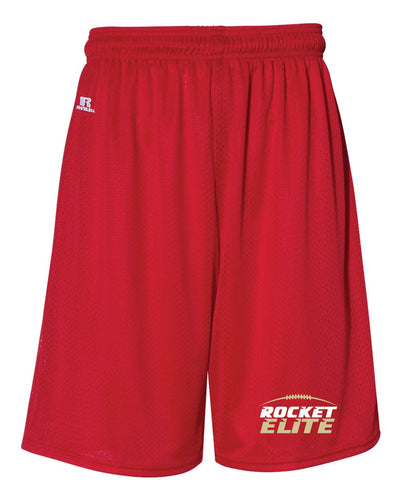 Rocket Elite Football Russell Athletic  Tech Shorts - Red - 5KounT2018