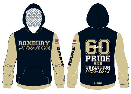 Roxbury Wrestling Sublimated Hoodie 60 Years Pride and Traditions