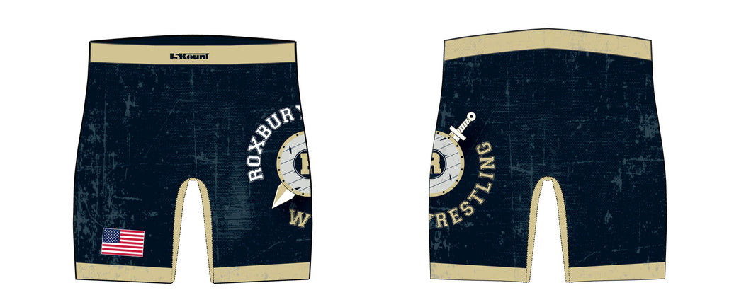 Roxbury Wrestling Sublimated Compression Shorts - 5KounT2018