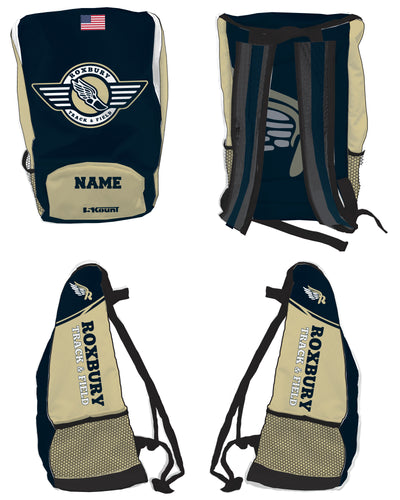 Roxbury Track & Field Sublimated Backpack - 5KounT2018