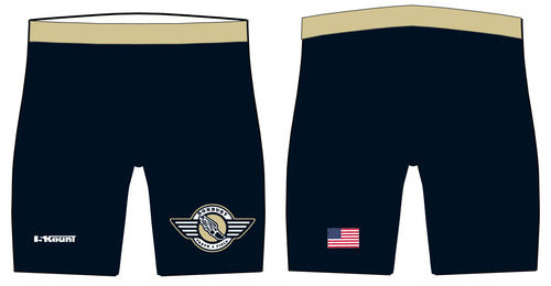 Roxbury Track & Field Sublimated Compression Shorts - 5KounT2018