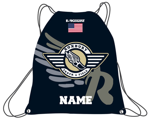 Roxbury Track & Field Sublimated Drawstring Bag - 5KounT2018