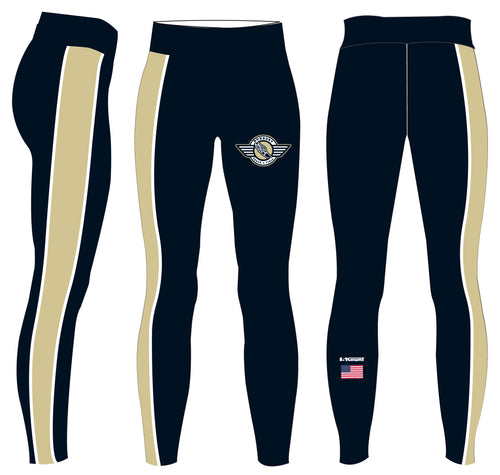 Roxbury Track & Field Sublimated Ladies Legging - 5KounT2018