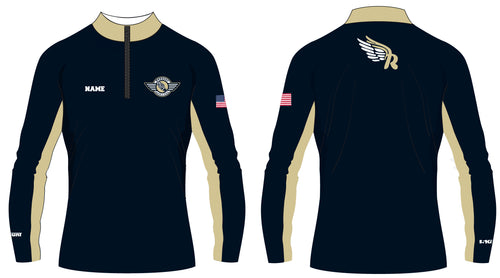 Roxbury Track & Field Sublimated Quarter Zip - 5KounT2018
