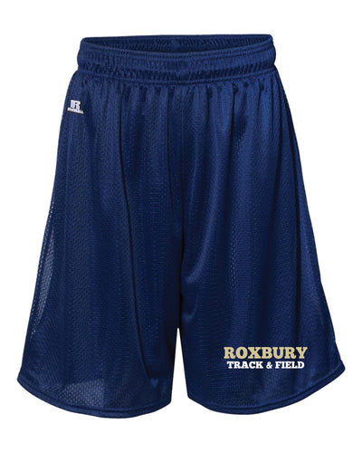 Roxbury Track & Field Russell Athletic  Tech Shorts - Navy - 5KounT2018
