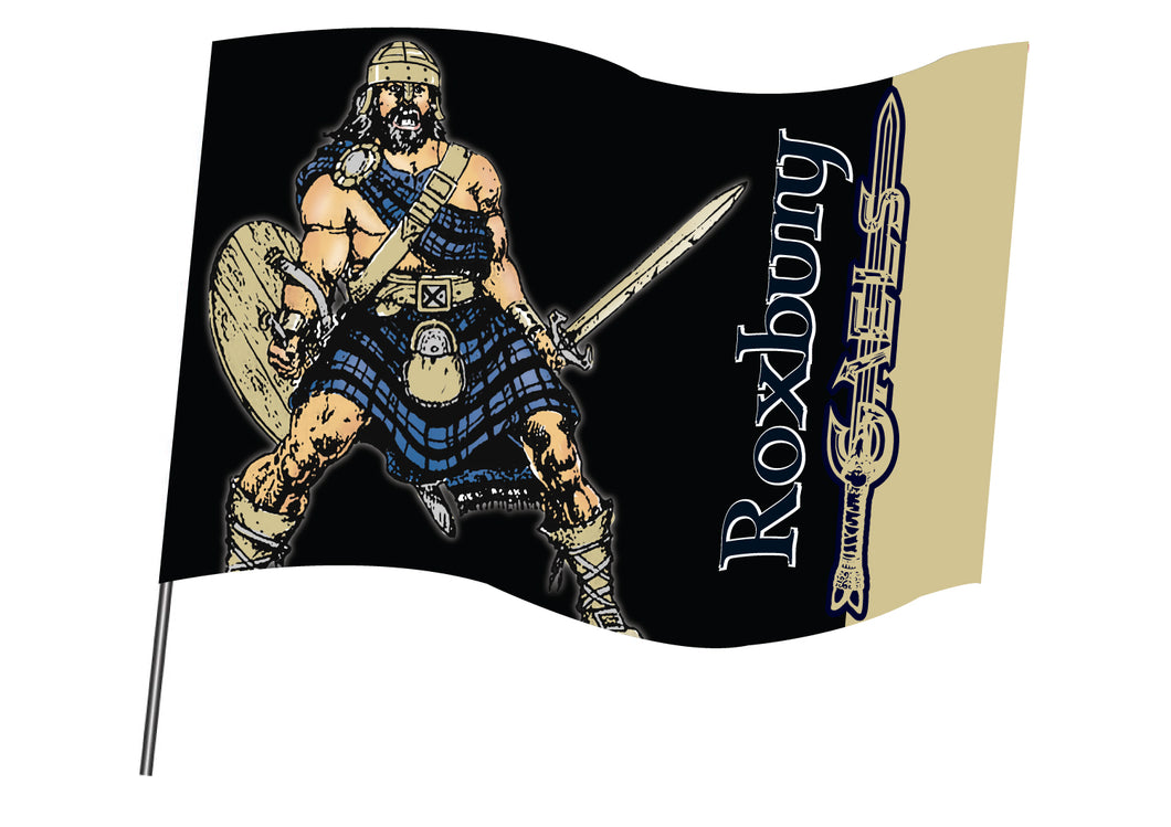 Roxbury Wrestling Sublimated Flag - 5KounT2018