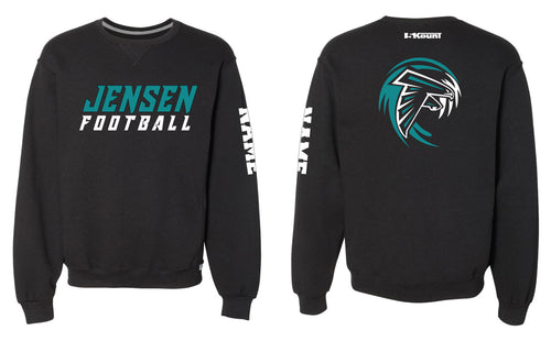 Jensen Beach Falcons Football Russell Athletic Cotton Crewneck