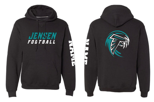 Jensen Beach Falcons Football Russell Athletic Cotton Hoodie