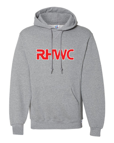 RedHawk Wrestling Club Russell Athletic Cotton Hoodie - Black/Heather Grey - 5KounT2018