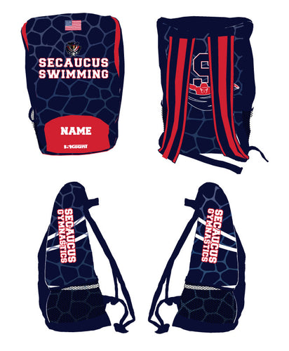 Secaucus Swimming Sublimated Backpack - 5KounT2018