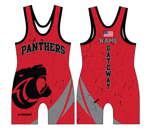 Gateway Panthers Wrestling Sublimated Singlet