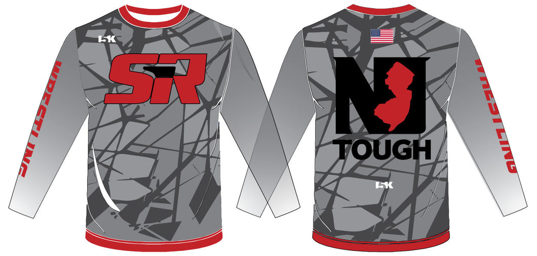 SIR Wrestling Sublimated Long Sleeve Shirt - 5KounT2018