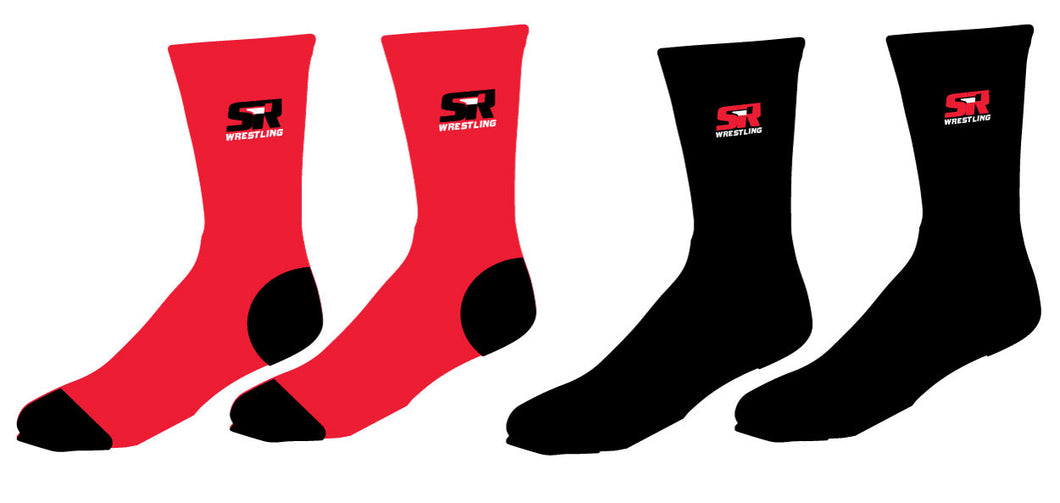SIR Wrestling Sublimated Socks - 5KounT