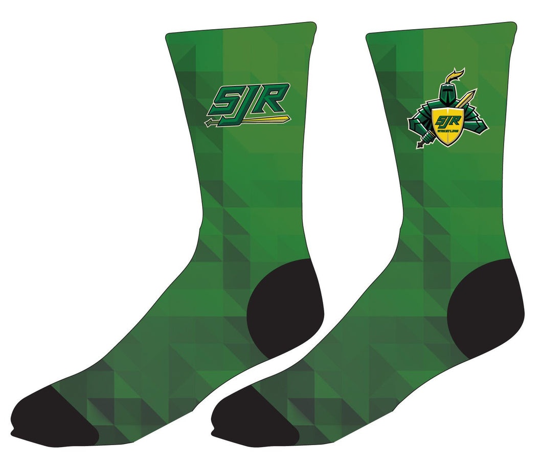 SJR Wrestling Sublimated Socks