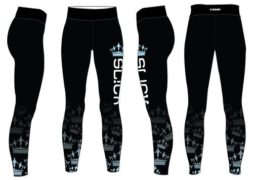 SL!CK Sublimated Ladies Legging - Black