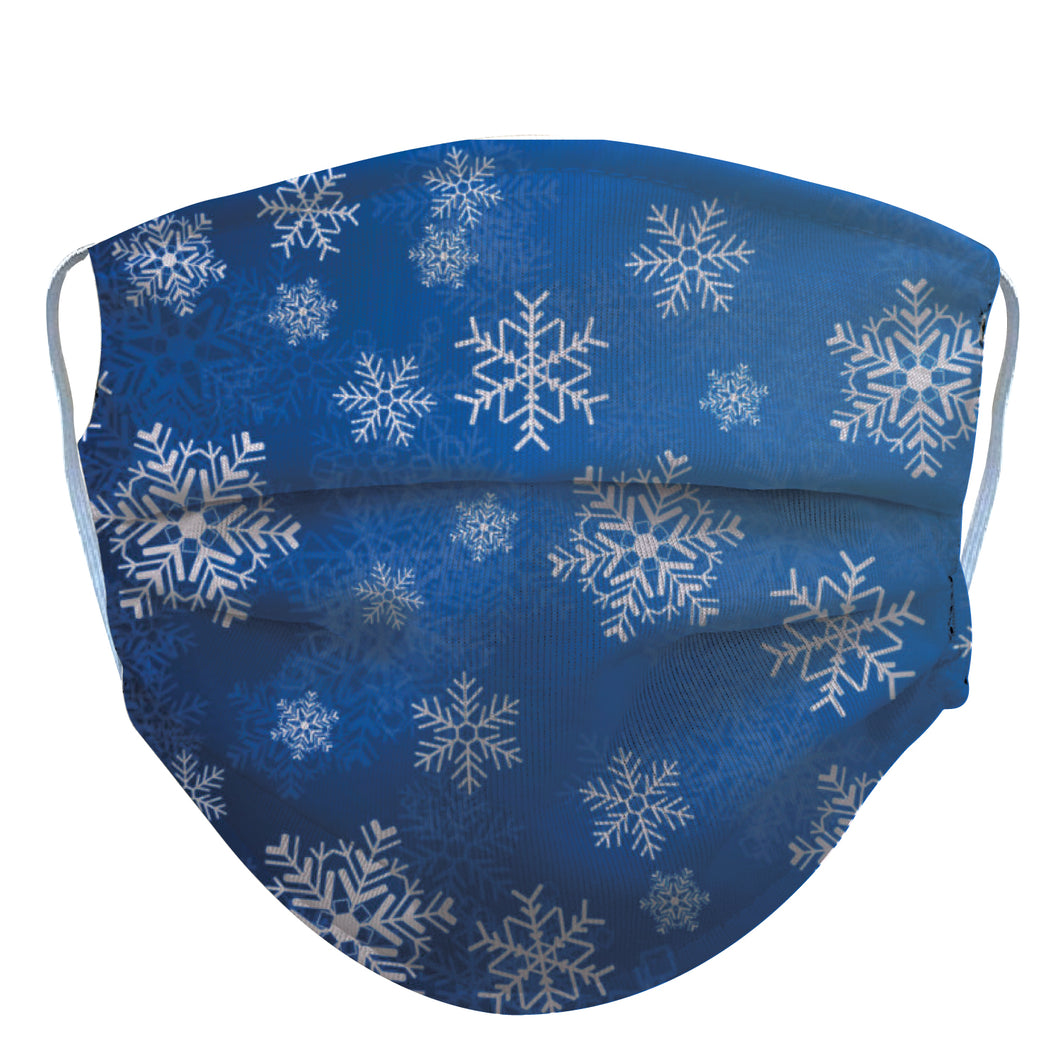 Snow Flakes Reusable Face Mask