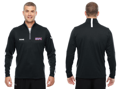 SRFC Under Armour Men's Qualifier 1/4 Zip - Black - 5KounT2018