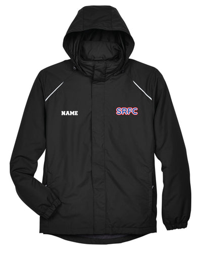 SRFC All Season Hooded Men's Jacket - Black - 5KounT2018