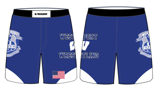 Westport Wreckers Sublimated Fight Shorts - 5KounT2018