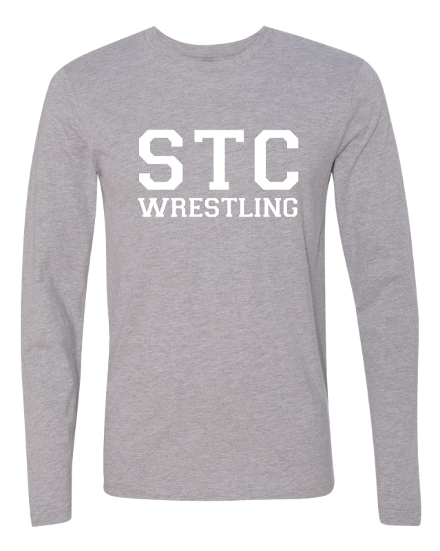 STC Wrestling Cotton Long Sleeve - Grey