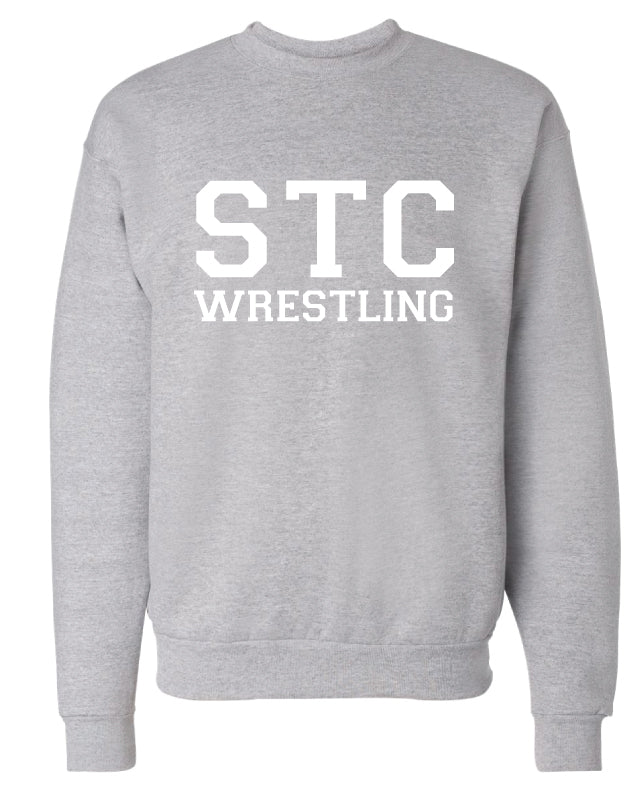 STC Wrestling Crewneck Sweatshirt - Grey