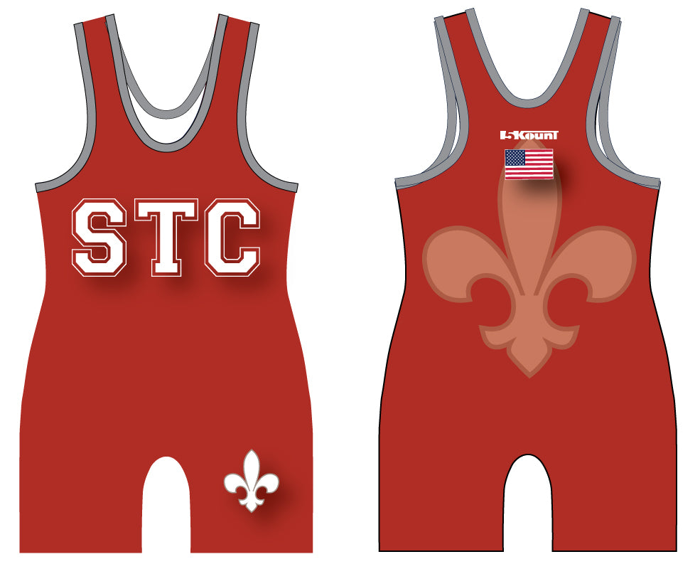 STC Wrestling Sublimated Singlet