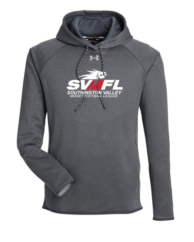 SVMFL Under Armour Men's Double Threat Armour  Fleece® Hoodie - Graphite/Black - 5KounT2018