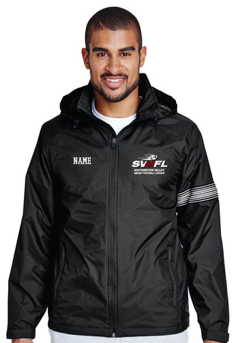 SVMFL All Season Hooded Jacket - Black [adult size only]