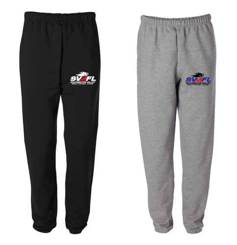 SVMFL Cotton Sweatpants - Black or Grey