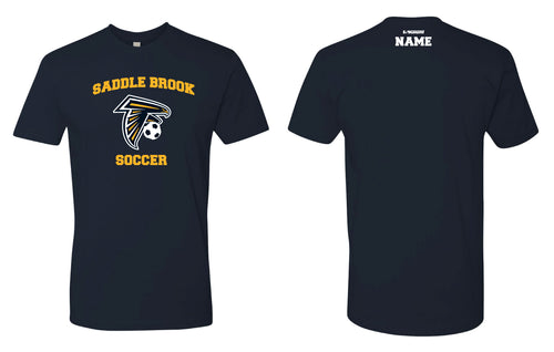 Saddle Brook Soccer Cotton Crew Tee - Navy